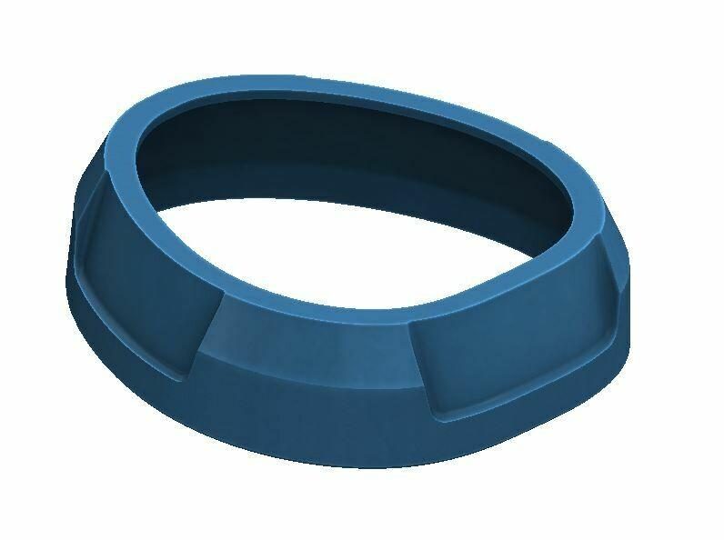 Shift Knob Trim Ring (2016+ Tacoma) - CAVALRY BLUE