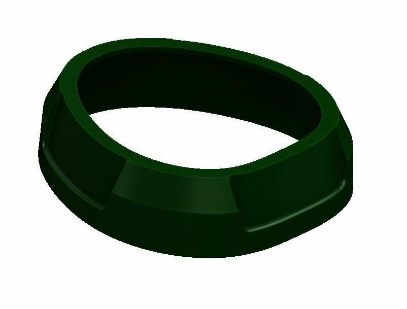 Shift Knob Trim Ring (2016+ Tacoma) - ARMY GREEN