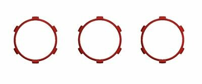 Climate Rings (2016+ Tacoma DUAL ZONE) - RED
