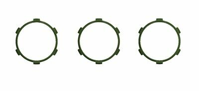 Climate Rings (2016+ Tacoma DUAL ZONE) - ARMY GREEN
