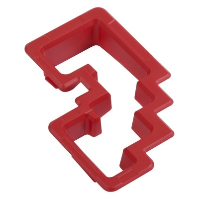 Shift Gate Trim Ring (2014+ Tundra) - RED