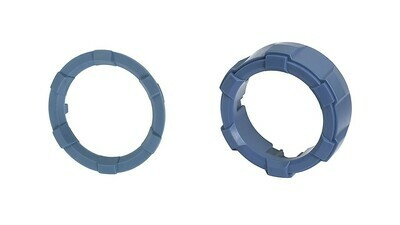 Start Button Ring + 4x4 Knob (2016+ Tacoma / 2020+ Tundra) - CAVALRY BLUE