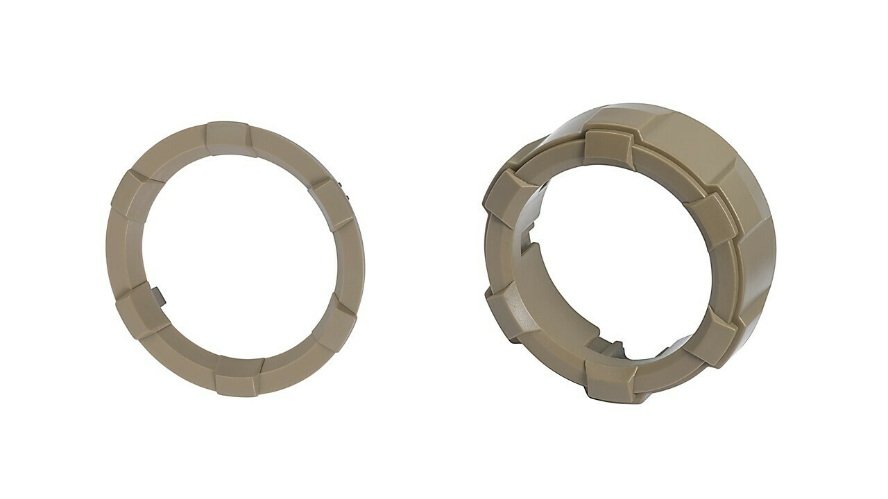 Start Button Ring + 4x4 Knob (2016+ Tacoma / 2020+ Tundra) - QUICKSAND
