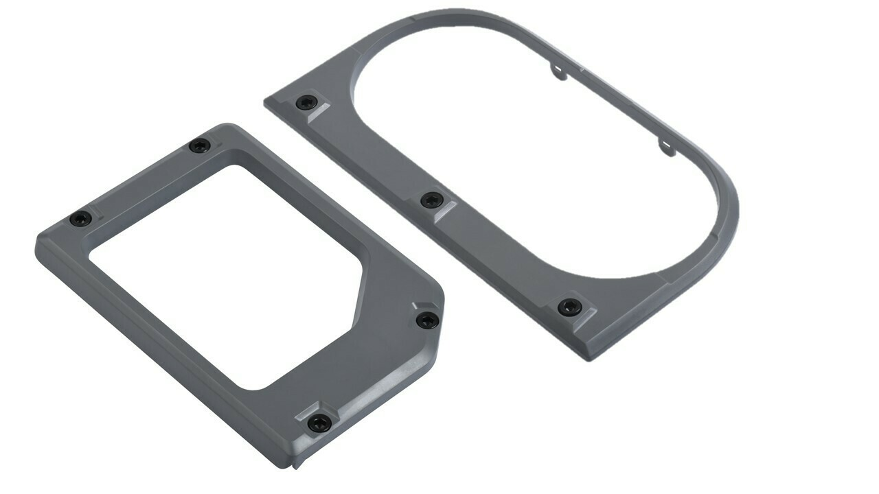 Cup Holder/Shifter Trim Rings (2014+ Tundra) - CEMENT