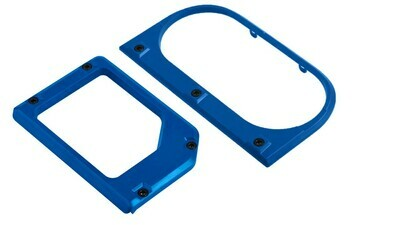 Cup Holder/Shifter Trim Rings (2014+ Tundra) - VOODOO BLUE