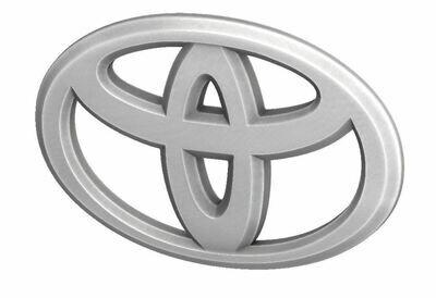 Steering Wheel Emblem Overlay (2012+ Tacoma / 2007+ Tundra / 2010+ 4Runner) - WHITE