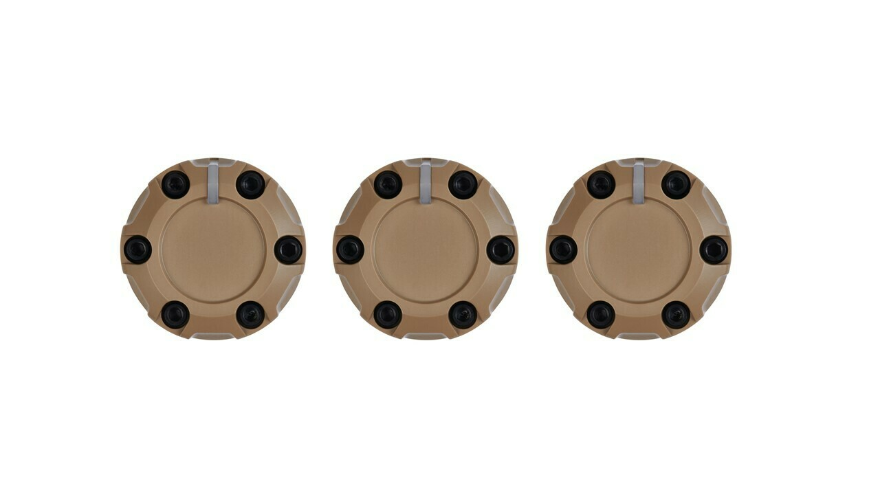 Climate Knobs (2014+ Tundra) - 3 PACK - QUICKSAND