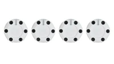 Climate Knobs (2007-2013 Tundra) - 4 PACK - WHITE