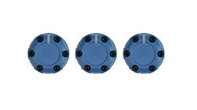 Climate Knobs (2014+ Tundra) - 3 PACK - CAVALRY BLUE