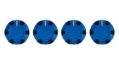 Climate Knobs (2007-2013 Tundra) - 4 PACK - VOODOO BLUE