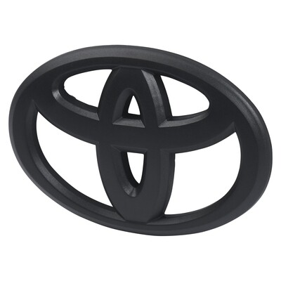 Steering Wheel Emblem Overlay (2012+ Tacoma / 2007+ Tundra / 2010+ 4Runner) - BLACK