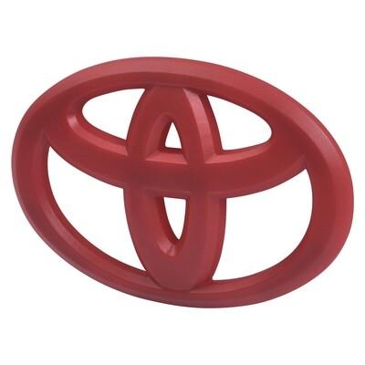 Steering Wheel Emblem Overlay (2012+ Tacoma / 2007+ Tundra / 2010+ 4Runner) - RED