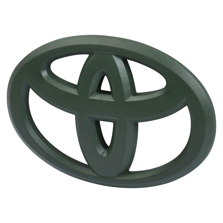 Steering Wheel Emblem Overlay (2012+ Tacoma / 2007+ Tundra / 2010+ 4Runner) - ARMY GREEN