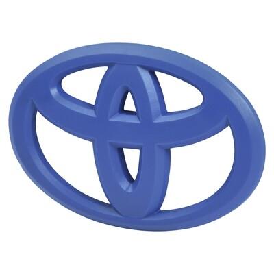 Steering Wheel Emblem Overlay (2012+ Tacoma / 2007+ Tundra / 2010+ 4Runner) - VOODOO BLUE