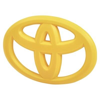 Steering Wheel Emblem Overlay (2012+ Tacoma / 2007+ Tundra / 2010+ 4Runner) - SUN FUSION YELLOW
