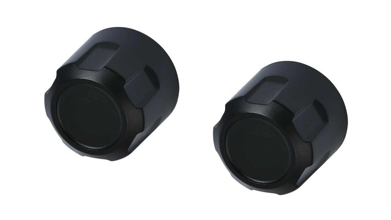 Radio Knobs (2014-2019 Tundra) - BLACK