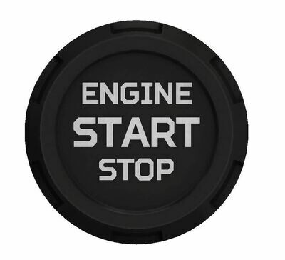 Push Start Button (2016+ Tacoma / 2020+ Tundra) - BLACK