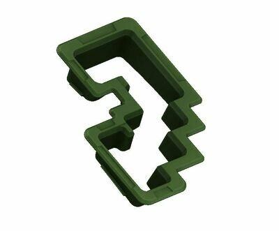 Shift Gate Trim Ring (2014+ Tundra) - ARMY GREEN
