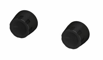 Climate Knobs (C6 Corvette) - BLACK - PRE ORDER