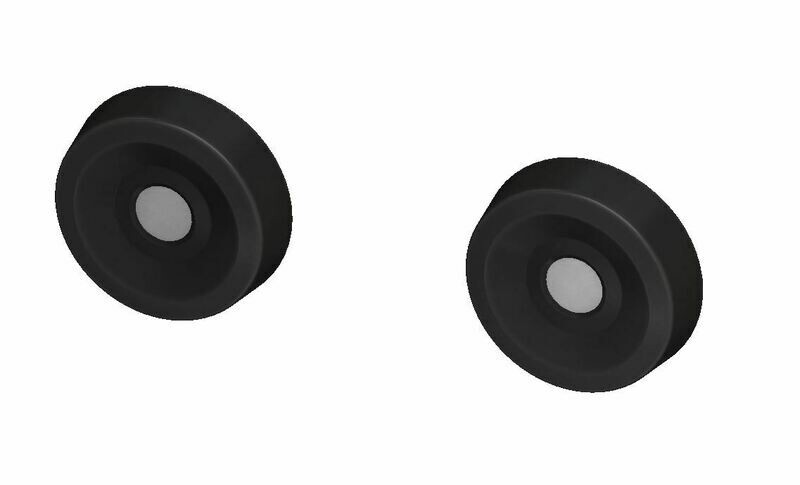 Door Buttons (C6 Corvette) - BLACK - PRE ORDER