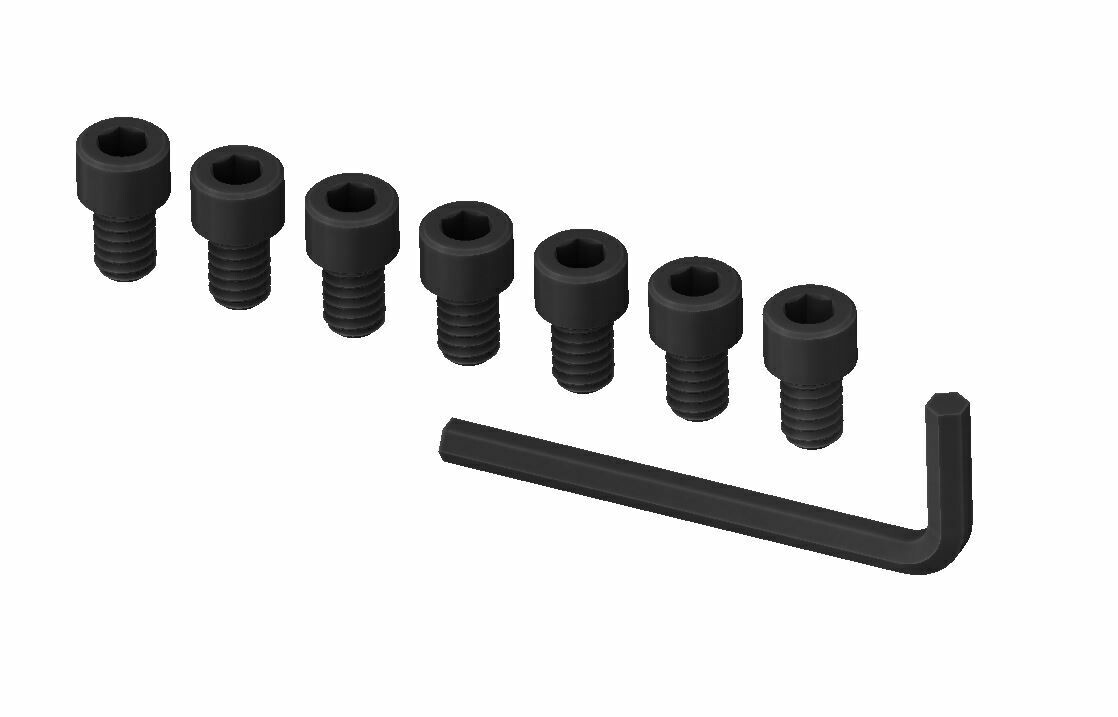 1/4-20 Extra Screws - Tundra Cup Holder/Shifter Trim Rings