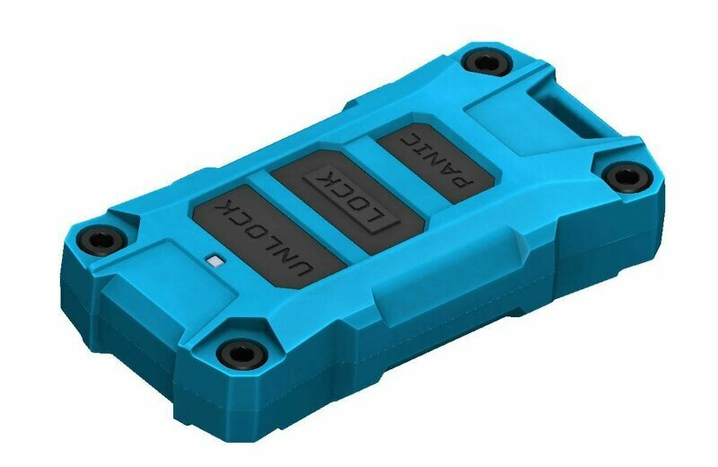 Injection Fob IF013 (Wrangler JL / Gladiator JT) - CHIEF BLUE