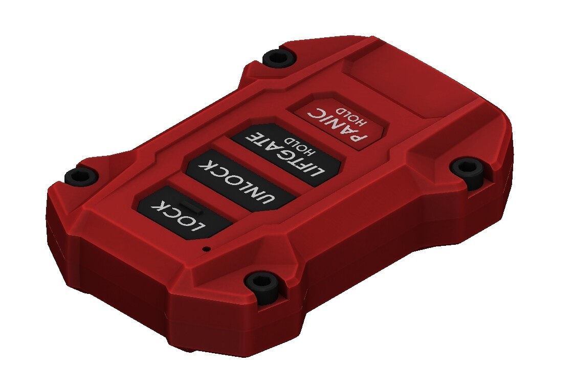 Injection Fob IF016 (2019+ Rav4) - RED - PRE ORDER