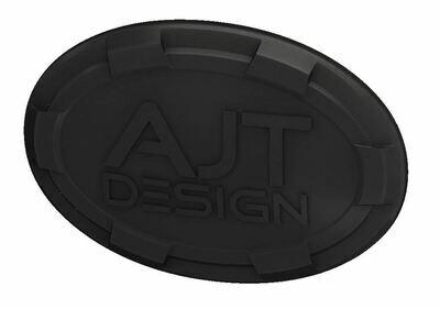 Steering Wheel Emblem Overlay (Select Toyota Models) - BLACK - AJT DESIGN - PRE ORDER