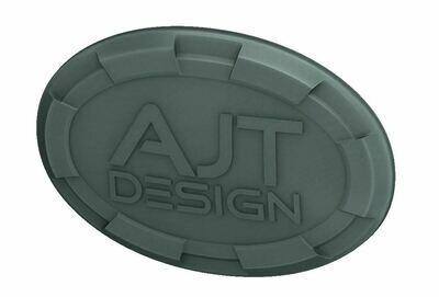 Steering Wheel Emblem Overlay (Select Toyota Models) - LUNAR ROCK - AJT DESIGN - PRE ORDER