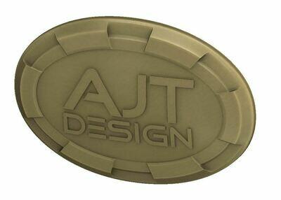 Steering Wheel Emblem Overlay (Select Toyota Models) - QUICKSAND - AJT DESIGN - PRE ORDER