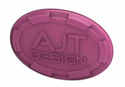 Steering Wheel Emblem Overlay (Select Toyota Models) - PINK - AJT DESIGN - PRE ORDER