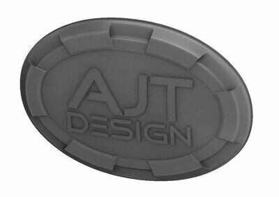Steering Wheel Emblem Overlay (Select Toyota Models) - CEMENT - AJT DESIGN - PRE ORDER