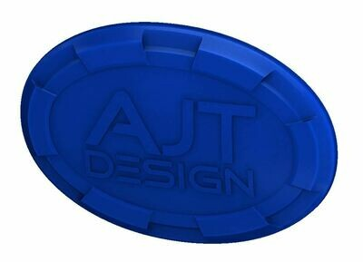 Steering Wheel Emblem Overlay (Select Toyota Models) - VOODOO BLUE - AJT DESIGN - PRE ORDER
