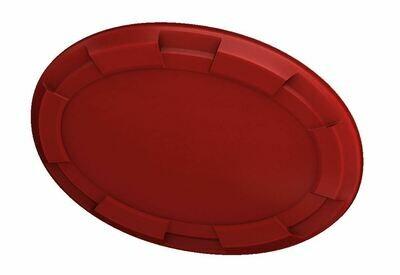 Steering Wheel Emblem Overlay (Select Toyota Models) - RED - BLANK - PRE ORDER