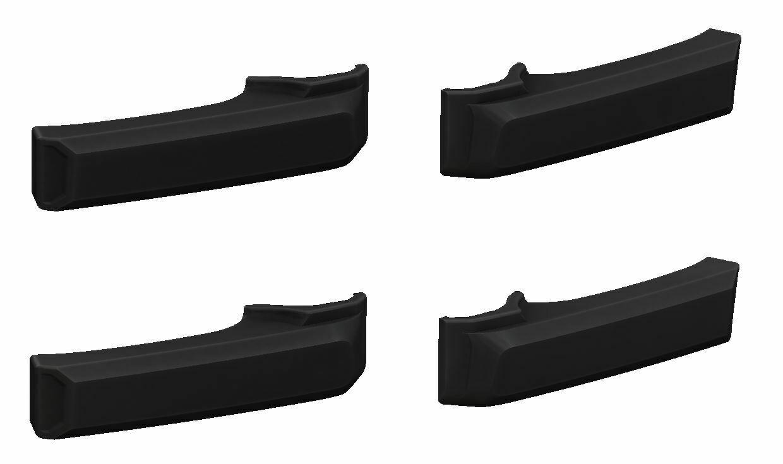 Door Handle Covers (2007+ Tundra) - BLACK - PREORDER