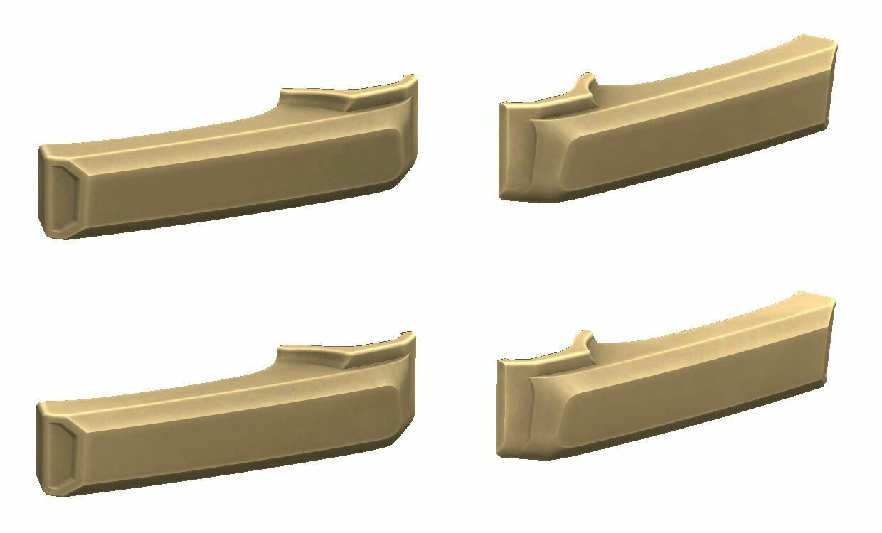 Door Handle Covers (2007+ Tundra) - QUICKSAND - PREORDER