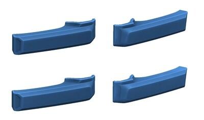 Door Handle Covers (2007+ Tundra) - CAVALRY BLUE