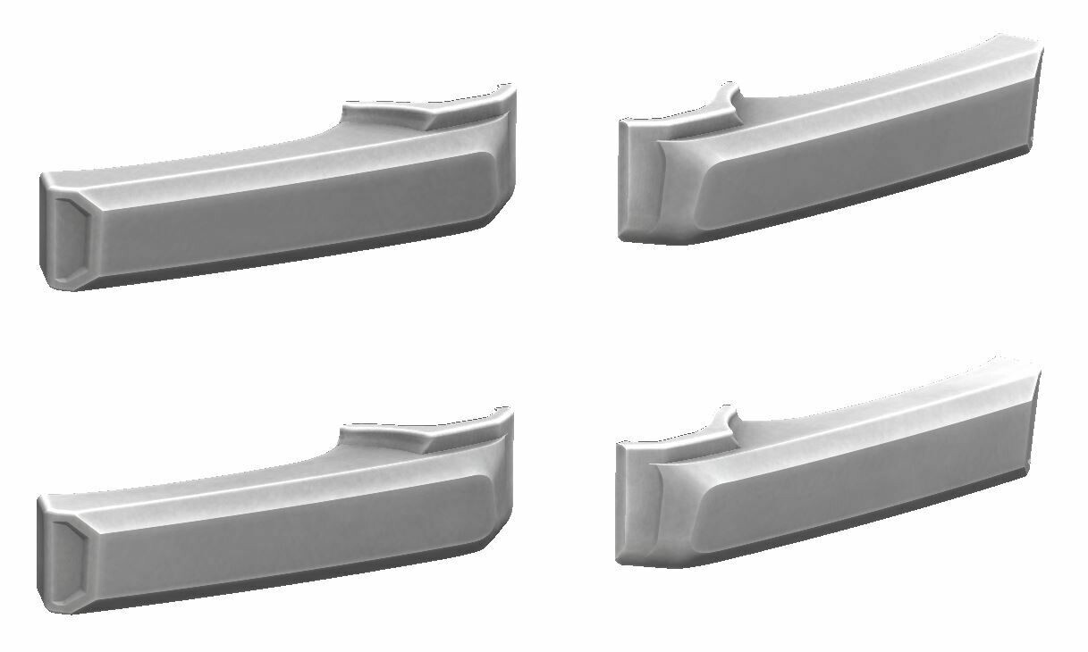 Door Handle Covers (2007+ Tundra) - WHITE - PREORDER