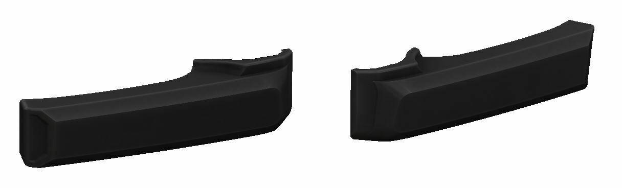Door Handle Covers (FJ Cruiser) - BLACK - PREORDER