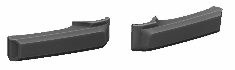 Door Handle Covers (FJ Cruiser) - CEMENT