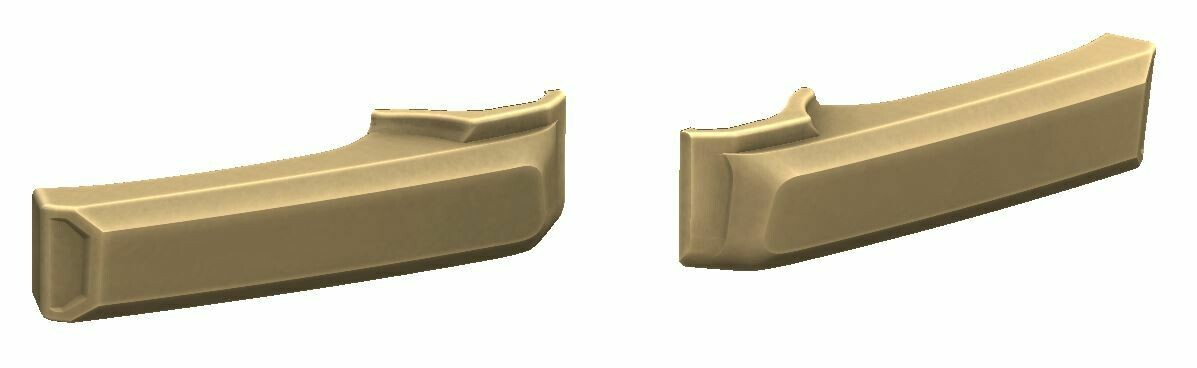 Door Handle Covers (FJ Cruiser) - QUICKSAND - PREORDER