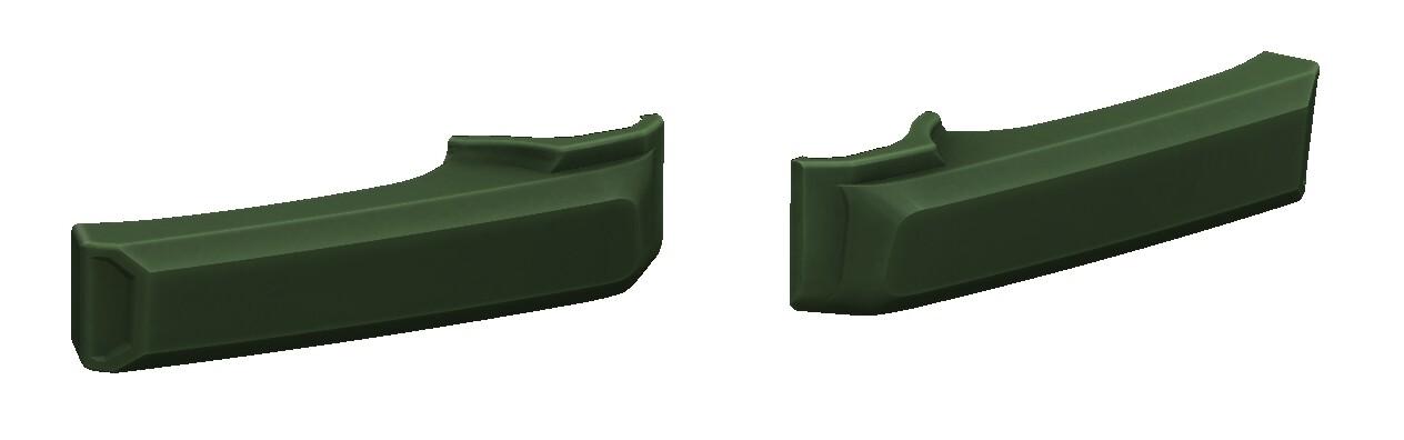 Door Handle Covers (FJ Cruiser) - ARMY GREEN - PREORDER