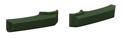Door Handle Covers (FJ Cruiser) - ARMY GREEN