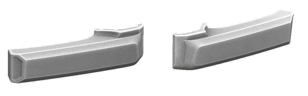 Door Handle Covers (FJ Cruiser) - WHITE