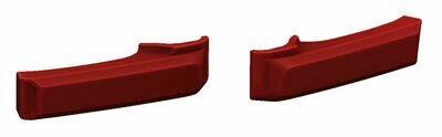 Door Handle Covers (FJ Cruiser) - RED