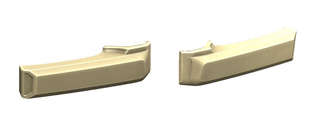 Door Handle Covers (FJ Cruiser) - SANDSTORM