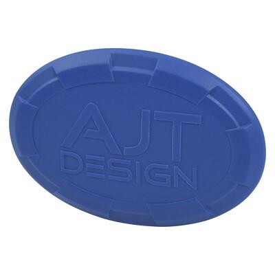 Steering Wheel Emblem Overlay (Select Toyota Models) - VOODOO BLUE - AJT DESIGN