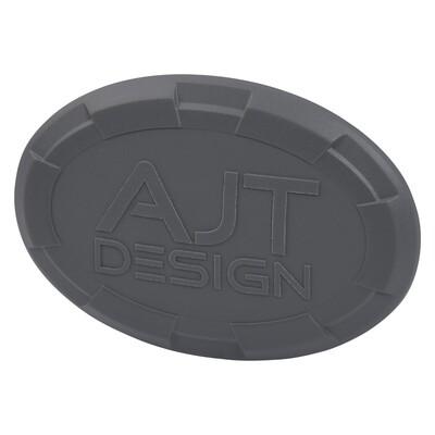 Steering Wheel Emblem Overlay (Select Toyota Models) - CEMENT - AJT DESIGN
