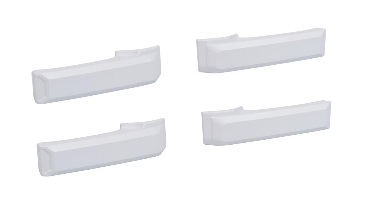 Door Handle Covers (2007+ Tundra) - WHITE