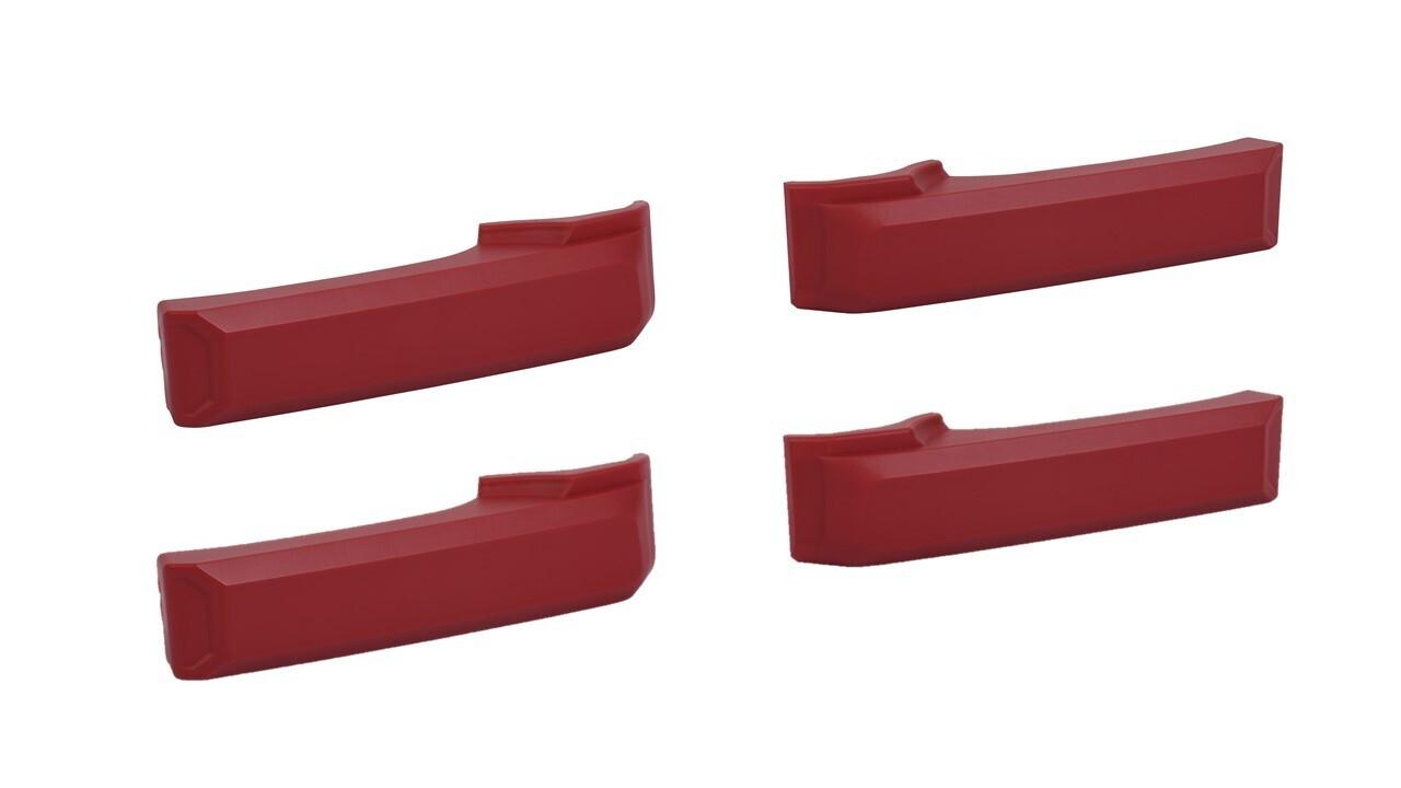 Door Handle Covers (2007+ Tundra) - RED